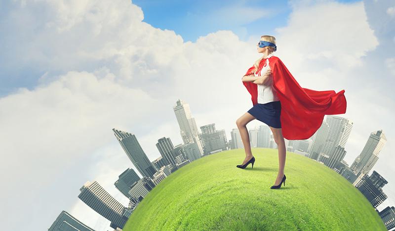 Kadın mısınız Yoksa Süper Kahraman mı?